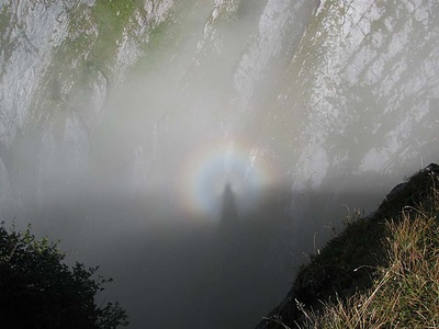 Regenbogen Aura, wie entstehts?