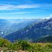 Aussicht aufs Rhônetal