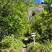 """Warntafel """"Nur für geübte Bergsteiger..."""" beim Einstieg. [http://www.hikr.org/gallery/photo75465.html?post_id=8687#1 Hier] besser zu lesen :-)"""