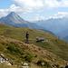 Blick nach Osten über die Widdersteinhütte hinweg zum Biberkopf und rechts in die Lechtaler Alpen.