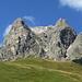 Nochmals die Südflanke des Widderstein vom Hochtannbergpass aus
