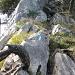 schöne Kraxlerei mit vielen genialen Wurzelgriffen
