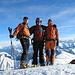 Grüezi mitenand auf dem Gipfel des Bürglen 2165m