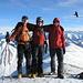 Auf dem Gipfel des Bürglen 2165m
