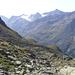 die höchste sichtbare Erhebung auf der gegenüberliegenden Talseite ist der Hintere Kitzkogel