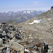 die Hochstubaihütte auf der Wildkarspitze ist nur noch einen Katzensprung weit entfernt<br /><br />(hinten Kaunergrat)