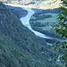 il fiume Maggia,visto da Q. 800