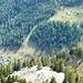 Tiefblick von der Bocchetta de Forcolet  Pt. 2229 auf Alp de Bec