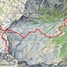 \Ungefähre Route 1. Tag   Alp de Bec - Cap. Buffalora - Nomnom