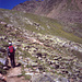 erster Blick auf den Gipfel des Gaislachkogels
