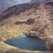 der von oben an ein Herz erinnernde Gaislachsee