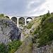 Der Luogelkin-Viadukt von unten