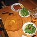 """Zu den Wahrzeichen von Wien gehört auch """"das biggest Schnitzel in Town"""" bei Figlmüller ;-) Bei den beiden Fleischstücken in dem anderen Teller handelt es sich um Cordon bleus<br /><br />"""