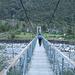 Attraversando il ponte verso Alnasca
