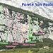 Übersicht über die Wand Parete San Paolo