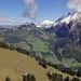 Blick hinuter zur Alp Rüederigs