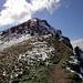 ab 1900m Schnee Gipfelgrat