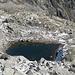 little lake at 2550 m