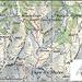 Die Karte mit unserem Weg