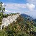 Über der Wandflue die Weiden des Oberen Grenchenbergs