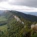 Blick von der Stallflue über die Küferegg zu den Grenchenbergen