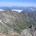 Dalla cima si vedono lo Jakobiger, il Ruchalplistock, l'Ober See e la Leutschachhuette