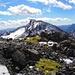 Knapp unterhalb des Gipfels: Piz Tasna