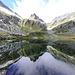 Le cime della Merdarola riflessi nel lago