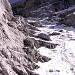 Der Mooshammersteig - schneeig, steil, eisig und rutschig und viel Geröll