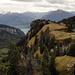 Blick retour zum Oberbergli, wetter noch trüb