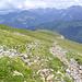 Abstieg übers Gipfelplateau