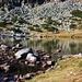 Der Bergsee bei der Hütte Хижа Мусала (Hiža Musala). <br /><br />Es gibt hier insgesammt sieben grössere Bergseen die als Мусаленски езера (Musalenski ezara) zusammengefasst werden.