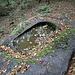Tomba scavata in un masso erratico (<b>Avello di Negrenza</b>).