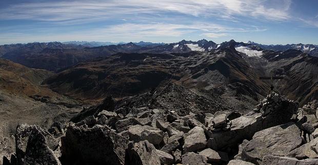 Panorama vom Kl Furkahorn