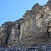 Felsriegel mit der Klettersteigpassage