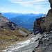 Abstieg nach Lavadignas Sura beim resp. unter dem Pt. 2680
