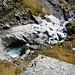 Wasserkraft - der Lavadignasbach lässt in der Geländestufe zwischen Mirutta und Lavadignas Miez seine Kräfte spielen
