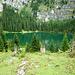 Ziel erreicht: Der idyllische Hinterburgsee