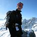 Mein Begleiter Dominik auf dem Gipfel