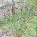 Ungefähre Route Legri - Alva - Venn