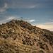kurzes Stück breiter Grat vorm Gipfel