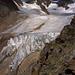 Wildspitze mit den Abbrüchen des Rofenkarferners, links das Ötztaler Urkund