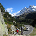 Klettern über der Passstrasse