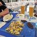 Mittagessen im Hotel Crusch Alba in Lavin