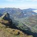 Blick ins Tal der Bregenzerach und nach Mellau