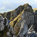 Auf dem Gamschopf-Westgrat: [u dani_] geniesst den Aus- und Tiefblick von einem exponierten Standort