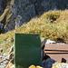 Alter Schinken: Das in einer völlig verrosteten Schatulle aufbewahrte Gipfelbuch auf dem Gamschopf benötigt dringend frische Luft und Sonnenlicht!