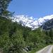 Salendo alla Cabane de Mountet si può ammirare il Weisshorn in tutta la sua imponenza