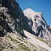 Auf dem Weg zum Einstieg in den Klettersteig