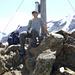 Am Gipfel - hinten die Weißseespitze